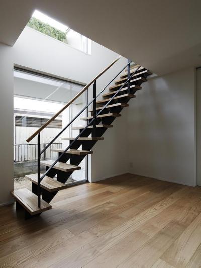 階段 (桜台の家)