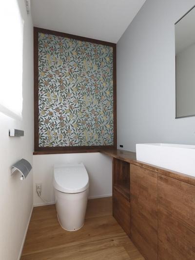 トイレ (桜台の家)