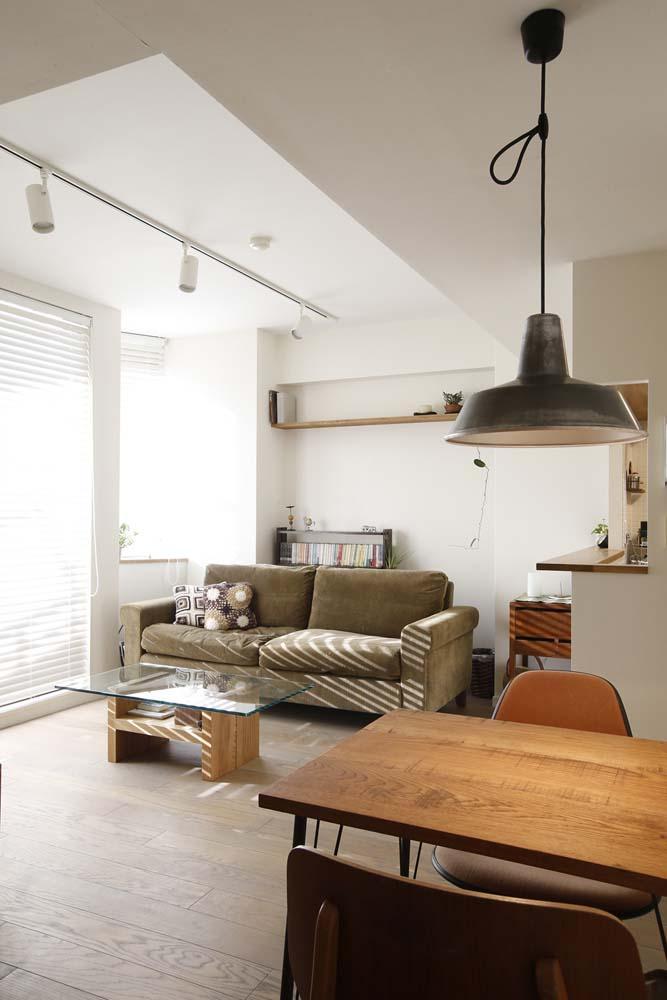 リノベーション・リフォーム会社:スタイル工房「H邸・白のハーモニーで作る二人のこだわり空間」