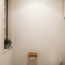H邸・白のハーモニーで作る二人のこだわり空間の写真 トイレ
