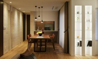 厳選素材のやさしい住まい (ダイニング・キッチン)