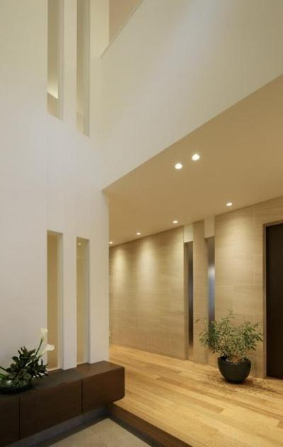 玄関ホール1 (厳選素材のやさしい住まい)