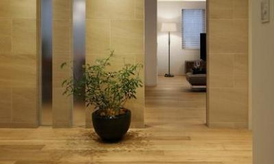 厳選素材のやさしい住まい (玄関ホール2)