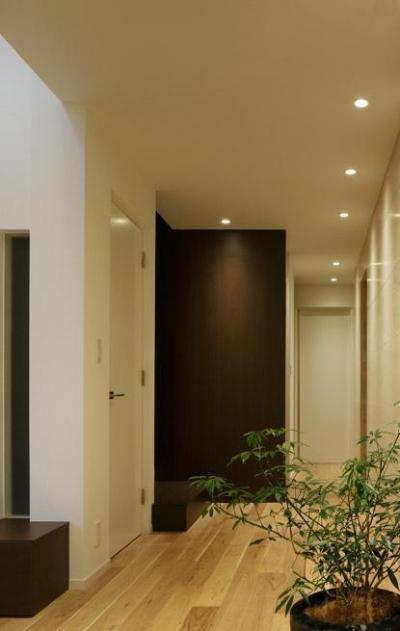 廊下 (厳選素材のやさしい住まい)