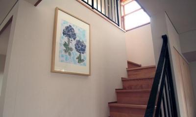 階段 池田自邸