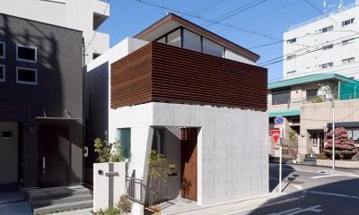 外観 (撮影:車田写真事務所)|東区 アオダモの家