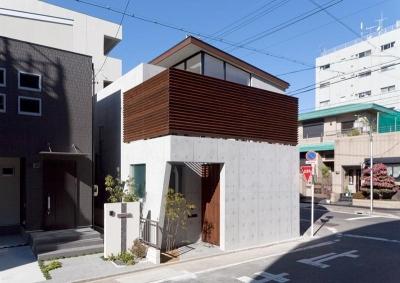 東区 アオダモの家 (外観 (撮影:車田写真事務所))