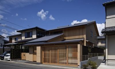 南東外観|京都市Tn邸