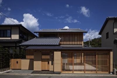 京都市Tn邸 (外観正面)