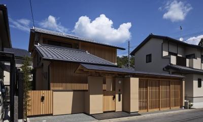 京都市Tn邸 (南西外観)