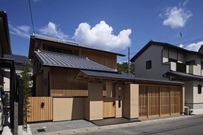 南西外観 (京都市Tn邸)