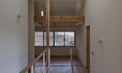 京都市Tn邸 (吹抜け階段)