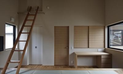主寝室|京都市Tn邸