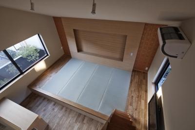 主寝室 (京都市Tn邸)