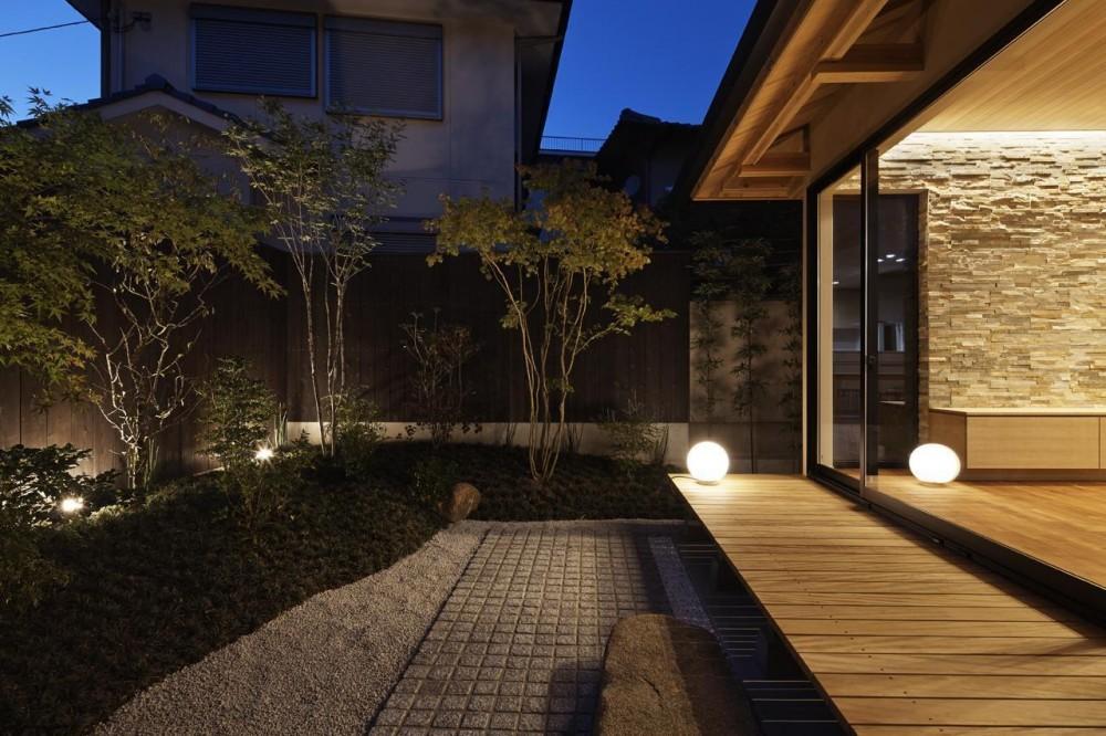 京都市Tn邸 (中庭)