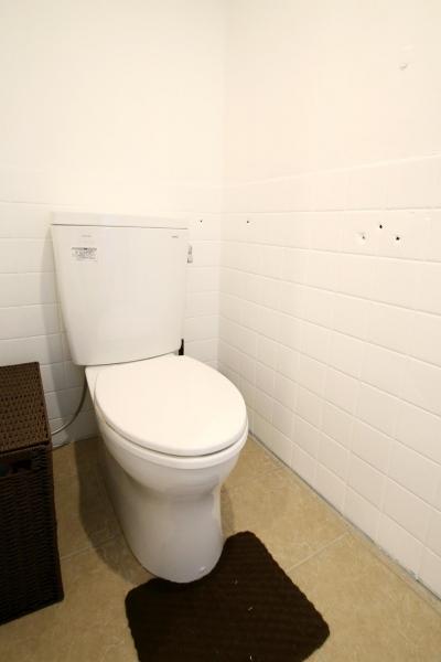 トイレ (スモーキーな刺激)