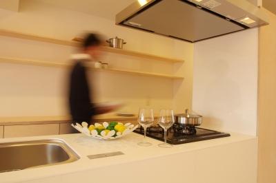 キッチン (シェルフでつながる)