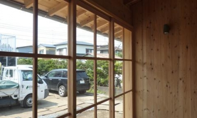 縁側テラス|個人住宅 神奈川県 2014
