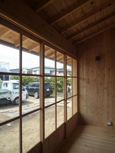 個人住宅 神奈川県 2014 (縁側テラス)