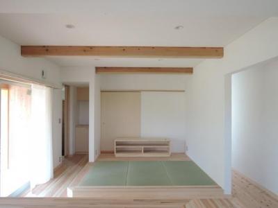 個人住宅 神奈川県 2014 (たたみリビング)