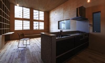 狭山の家:大阪.狭山の注文住宅 (リビングダイニングキッチン)