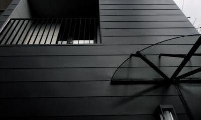 池田の家:狭小間口の木造3階建て住宅