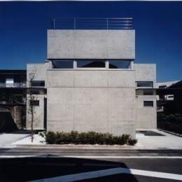 新宿の住宅 NIS (外観)