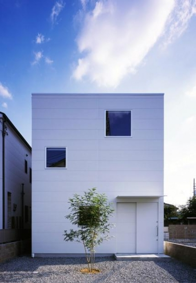 浜寺の家:大阪 . 堺の注文住宅 (正面外観)