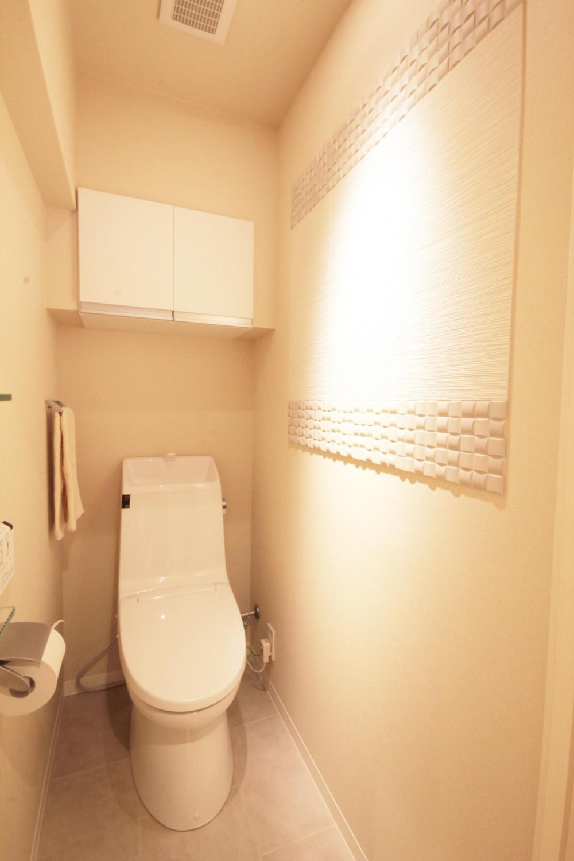 千代田区 N邸 障子のある和モダンな空間 (トイレ)