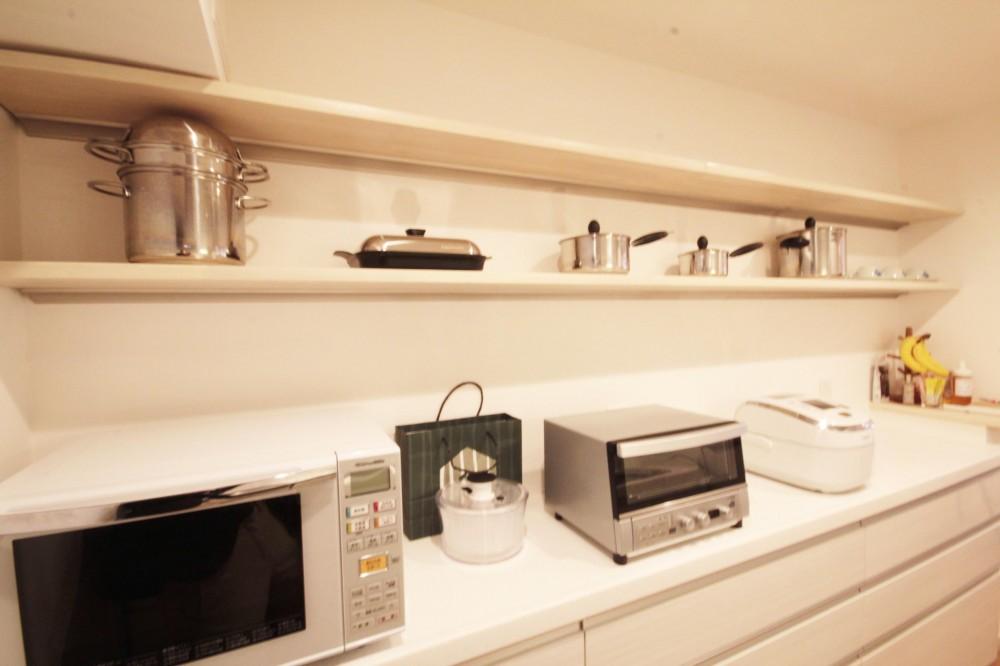 千代田区 N邸 障子のある和モダンな空間 (キッチン)