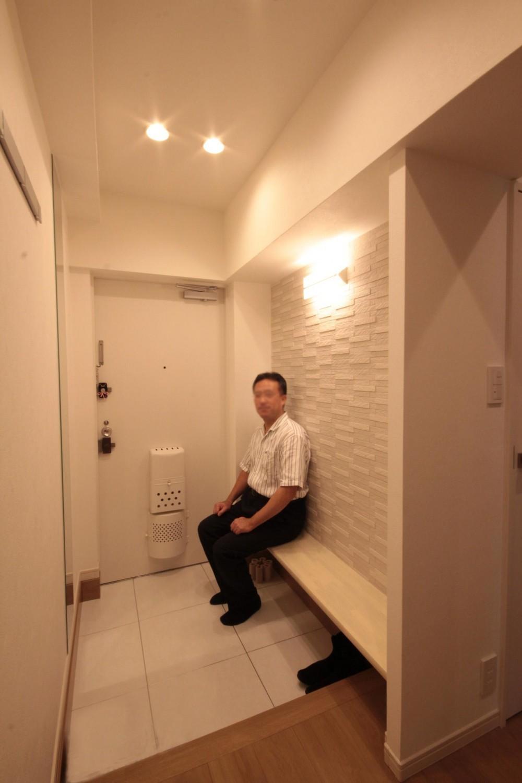 千代田区 N邸 障子のある和モダンな空間 (玄関)