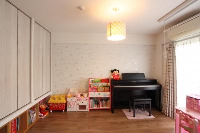 子供部屋 (千葉市 I邸 やさしさを育む住まい)