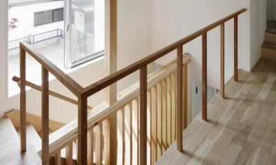 階段|「通りぬける家」