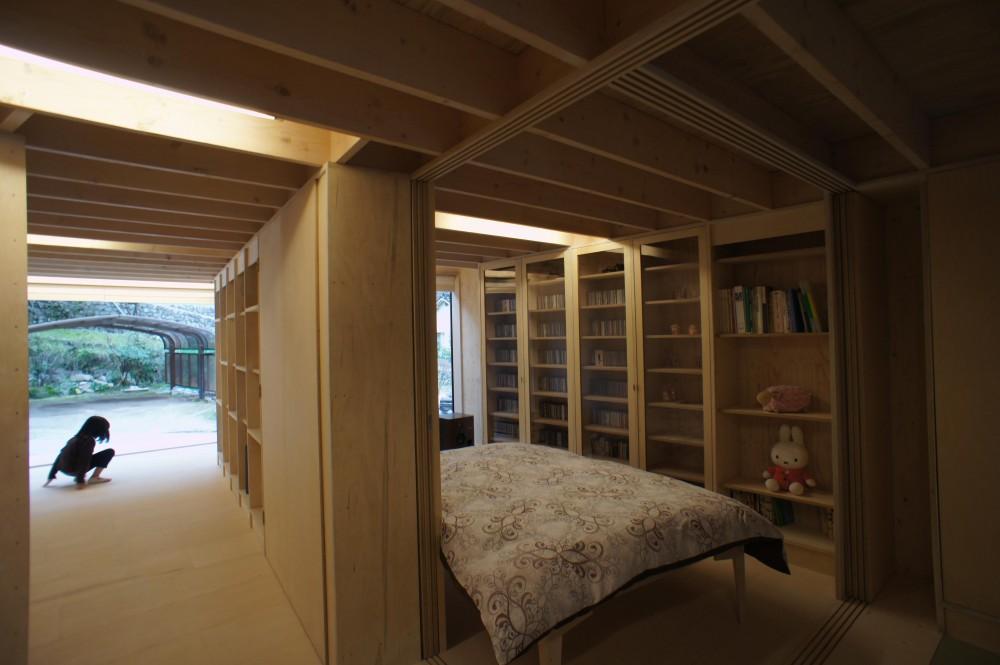 タテカグの家 -建築・内装・家具のトータルデザイン住宅- (寝室)