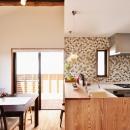 2世帯のための、家族快適リフォーム!の写真 キッチン1