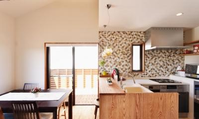 キッチン1|2世帯のための、家族快適リフォーム!
