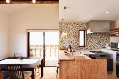 キッチン1 (2世帯のための、家族快適リフォーム!)