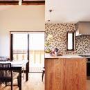 2世帯のための、家族快適リフォーム!の写真 キッチン2