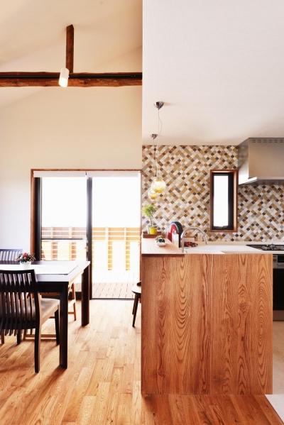 キッチン2 (2世帯のための、家族快適リフォーム!)
