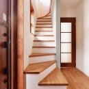 2世帯のための、家族快適リフォーム!の写真 階段・廊下