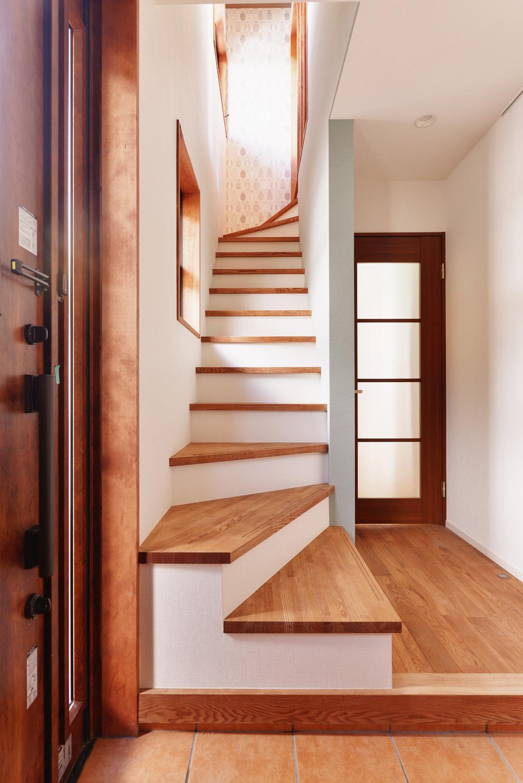 2世帯のための、家族快適リフォーム! (階段・廊下)