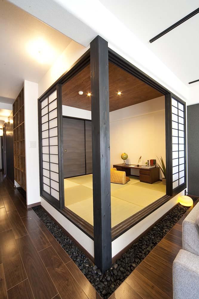 和と洋の良さを美しく融合、和洋風雅。の部屋 和室1