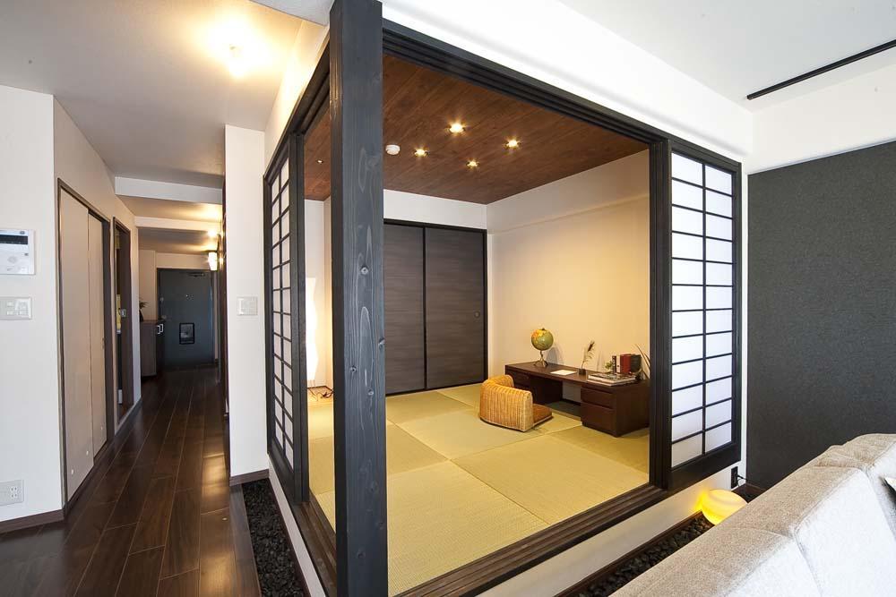和と洋の良さを美しく融合、和洋風雅。の部屋 和室2