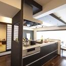 ベツダイの住宅事例「和と洋の良さを美しく融合、和洋風雅。」