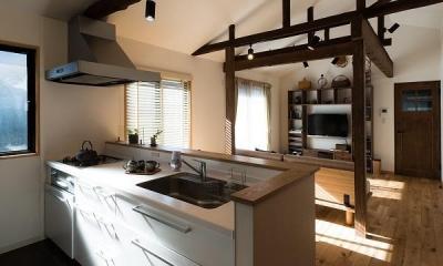 築50年の家を更に50年住める家に (キッチン)