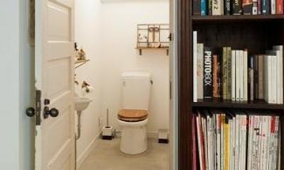 ひっそりと佇むサロンとしての部屋 (トイレ)