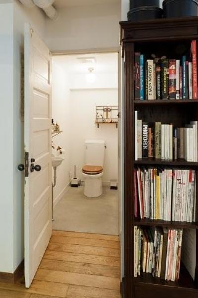 トイレ (ひっそりと佇むサロンとしての部屋)