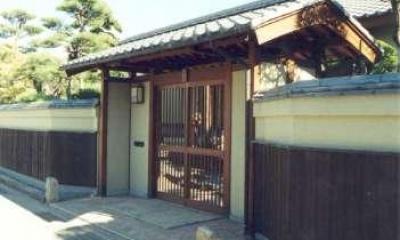 趣きのある門|坂東邸