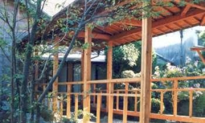 渡り廊下|坂東邸