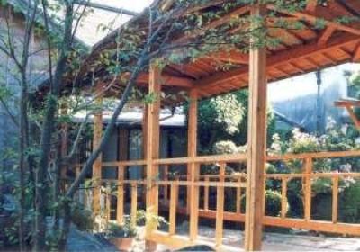 坂東邸 (渡り廊下)